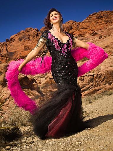 "Burlesque Dancer Marinka ""The Amazon"""