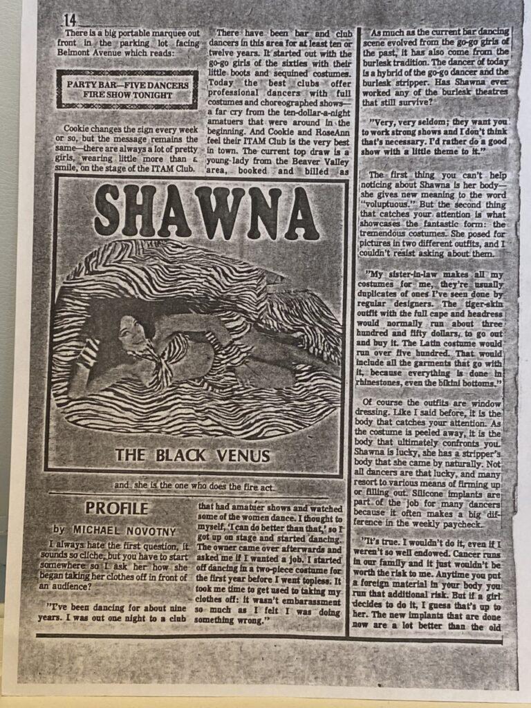 Shawna clipping