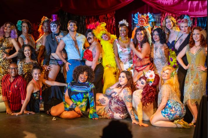 Inaugural Panama Burlesque Festival cast