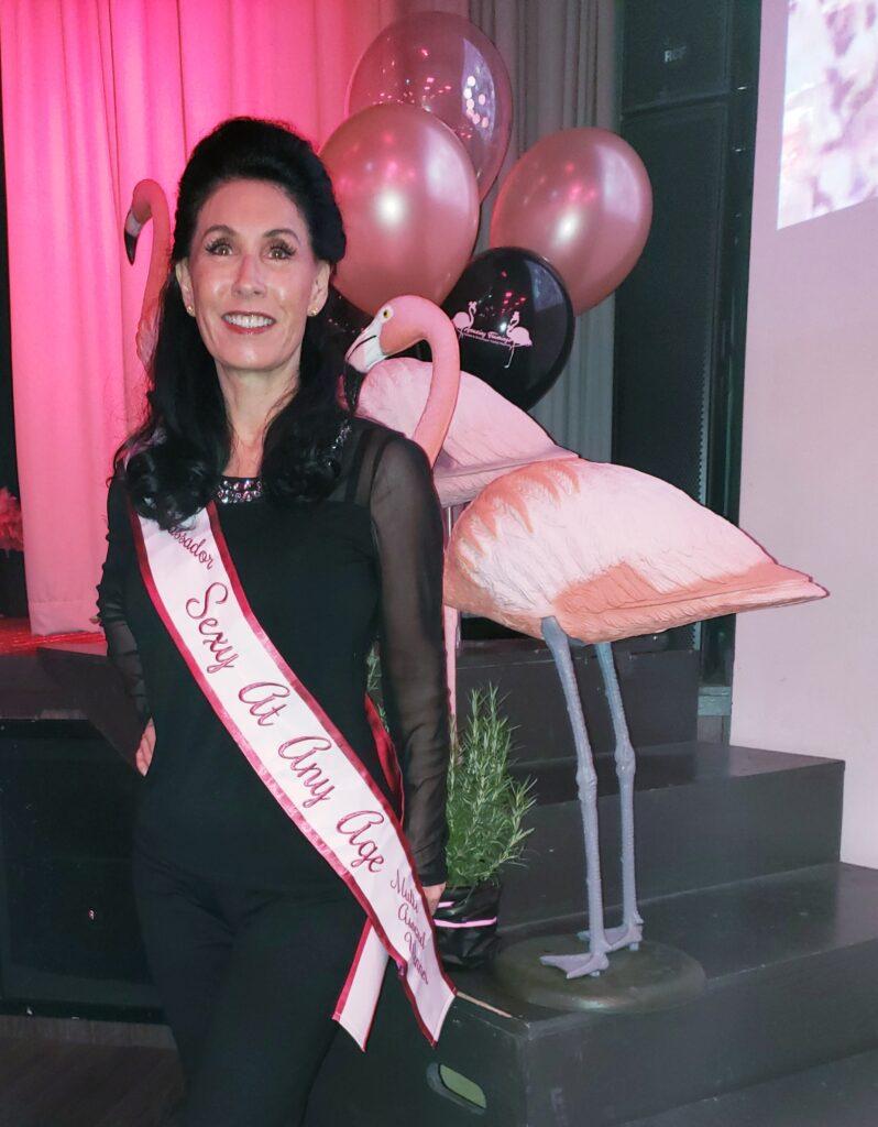 Lillian DuJour at Amazing Flamingo Burlesque Festival