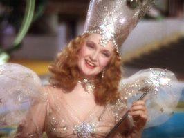Billie Burke as Glinda the Good Witch