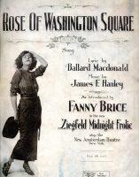 Fanny Bryce in Ziegfeld's Midnight Frolic