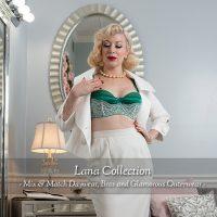 Lana Collection: Green Bra 2