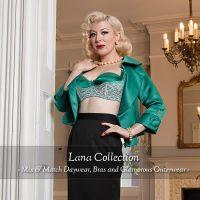 Lana Collection: Green Bra