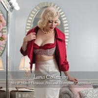 Lana Collection: Red Bra
