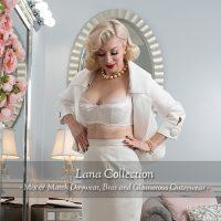 Lana Collection: White Bra